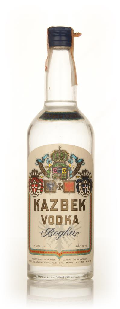 Kazbek Vodka - 1970s Plain Vodka