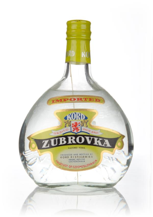 Kord Zubrovka - 1980s Flavoured Vodka