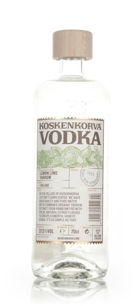 Koskenkorva Vodka  - Lemon Lime Yarrow Flavoured Vodka