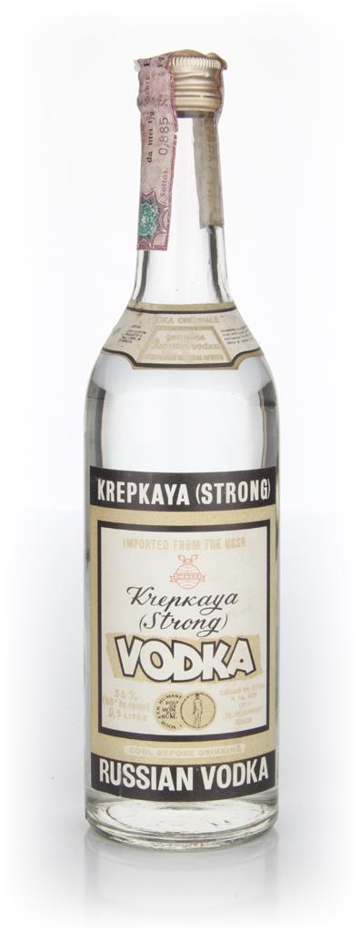 Krepkaya Vodka - 1970s Plain Vodka