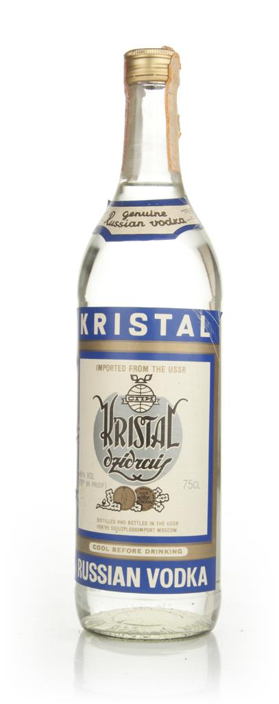 Kristal Russian Vodka - 1970s Plain Vodka