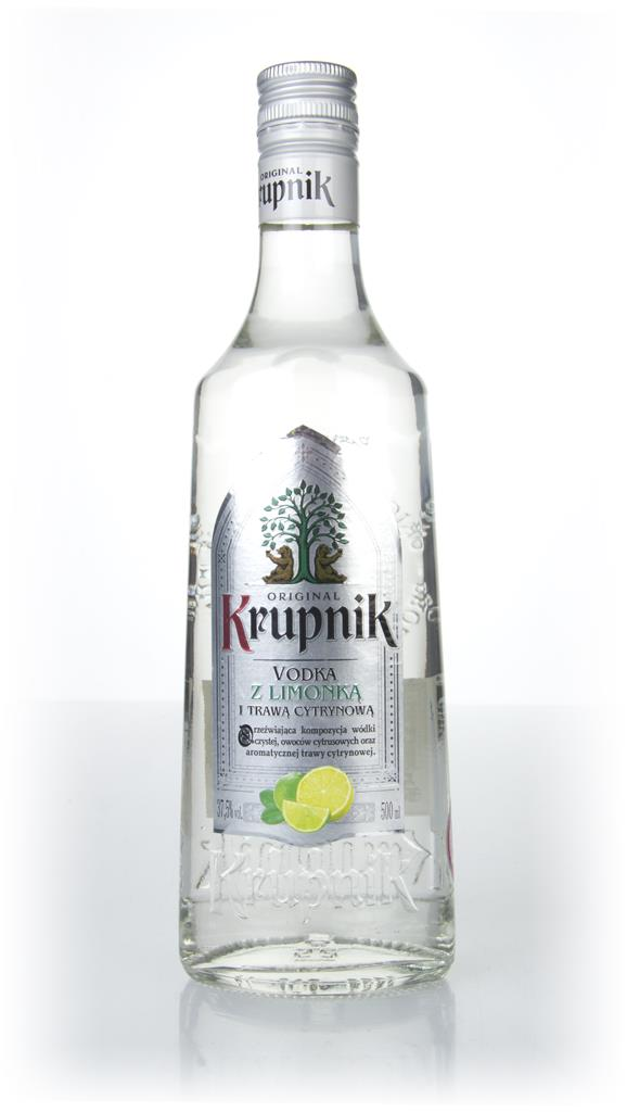 Krupnik Lemongrass & Lime Flavoured Vodka