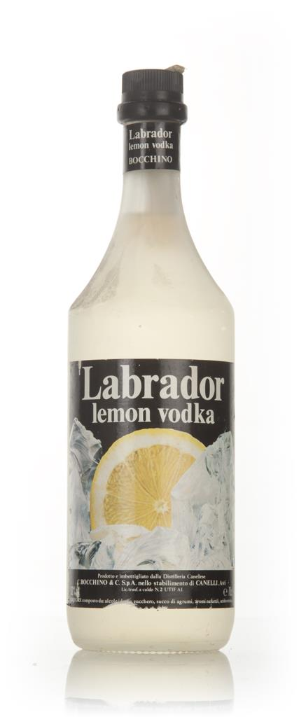 Labrador Lemon Vodka - 1970s Flavoured Vodka
