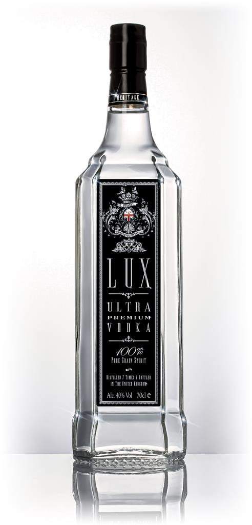 Lux Black Label Plain Vodka