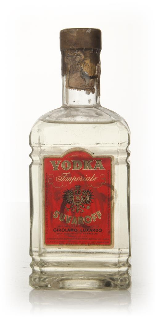 Luxardo Vodka Imperiale Suraroff - 1950s Plain Vodka