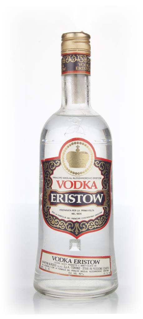 Eristow Vodka - 1970s Plain Vodka