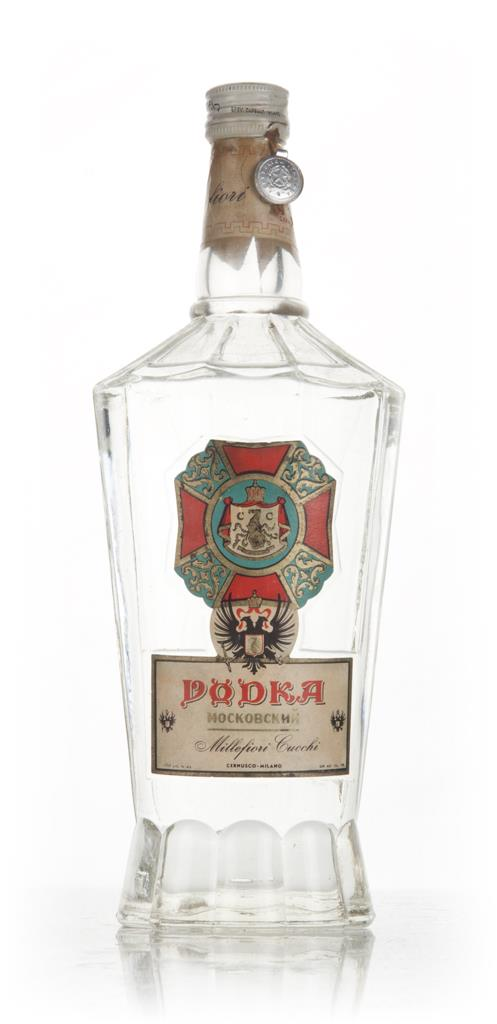 Millefiori Cucchi Vodka - 1949-59 Plain Vodka