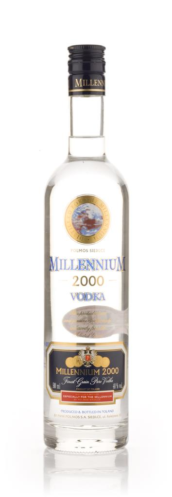 Millennium 2000 Plain Vodka