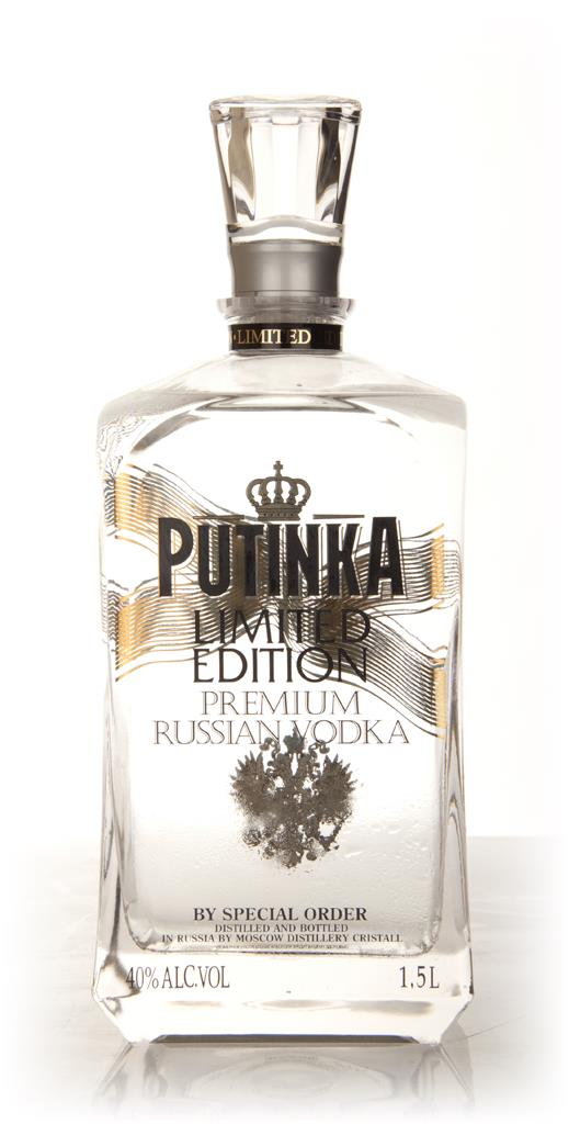 Putinka Limited Edition Vodka 1.5l Plain Vodka
