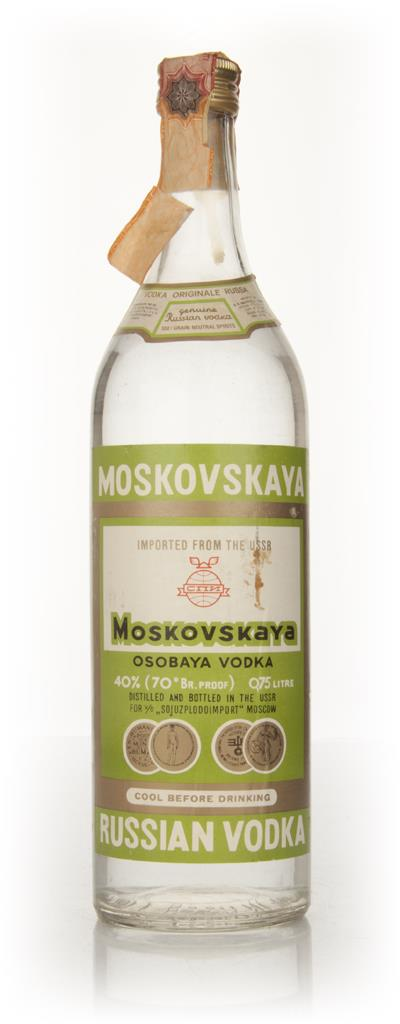 Moskovskaya Vodka - 1970s Plain Vodka