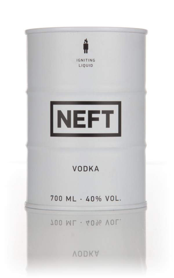 NEFT Vodka White Barrel Plain Vodka