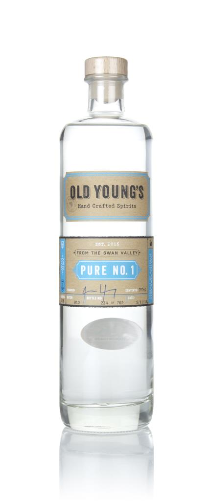 Old Youngs Pure No.1 Plain Vodka