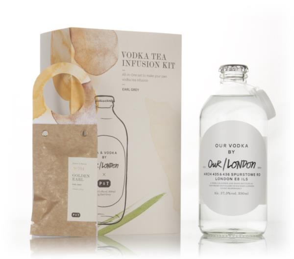 Our/London Vodka Tea Infusion Kit - Earl Grey Plain Vodka