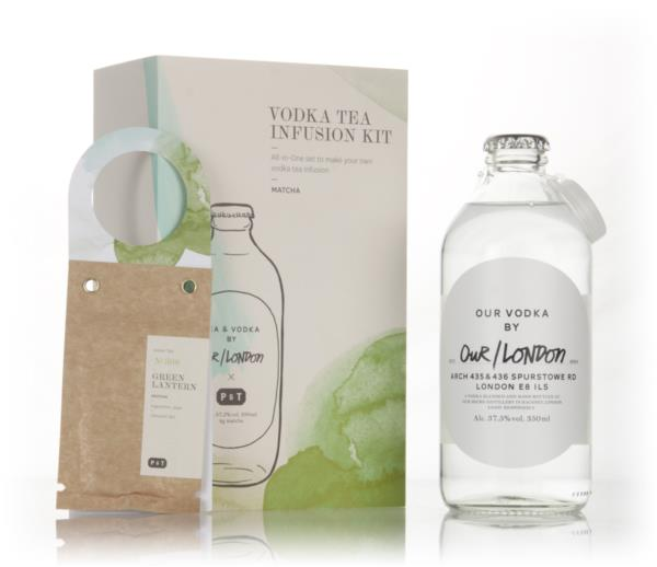 Our/London Vodka Tea Infusion Kit - Matcha Plain Vodka