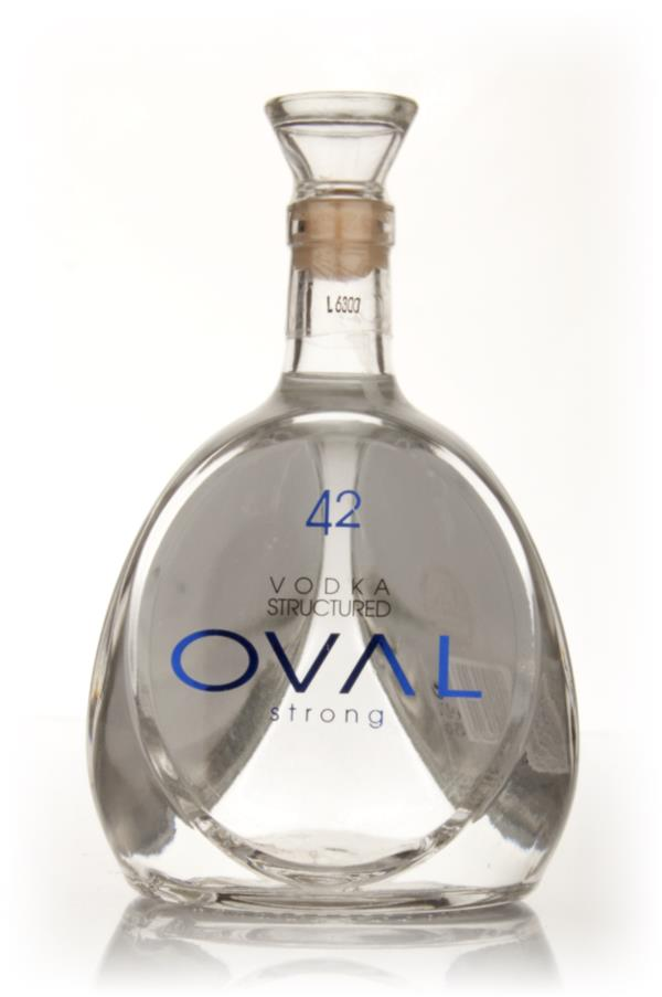 Oval 42 Structured Plain Vodka