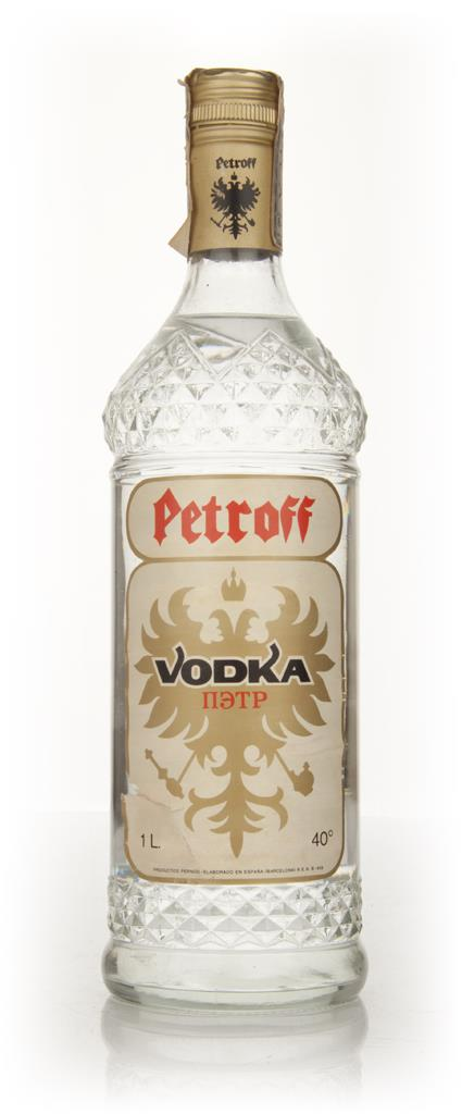 Petroff Vodka - 1960s Plain Vodka