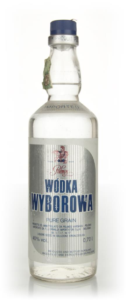 Wyborowa Vodka - 1970s Plain Vodka