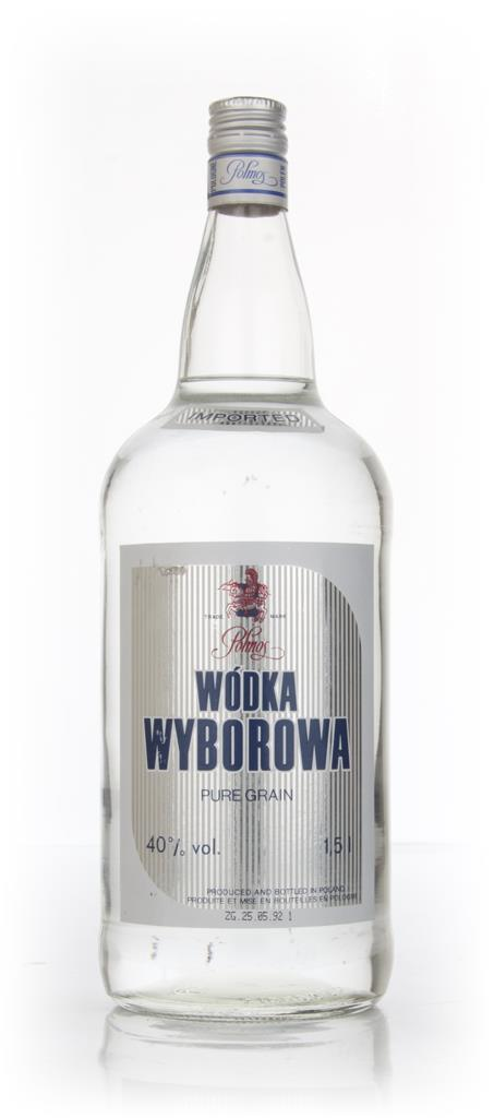 Polmos Wyborowa Wodka 1.5l - 1992 Plain Vodka