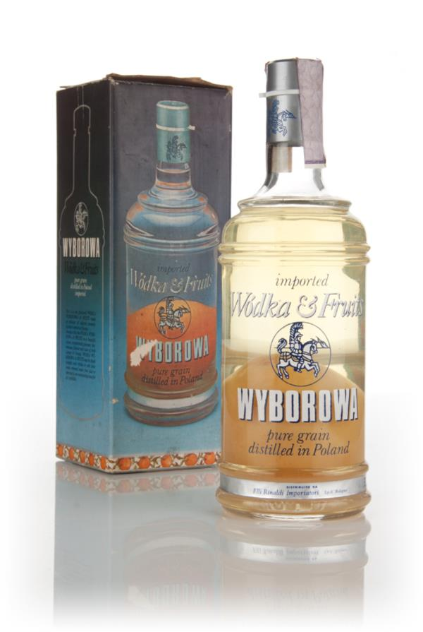 Wyborowa Wodka & Fruits Orange - 1970s Flavoured Vodka