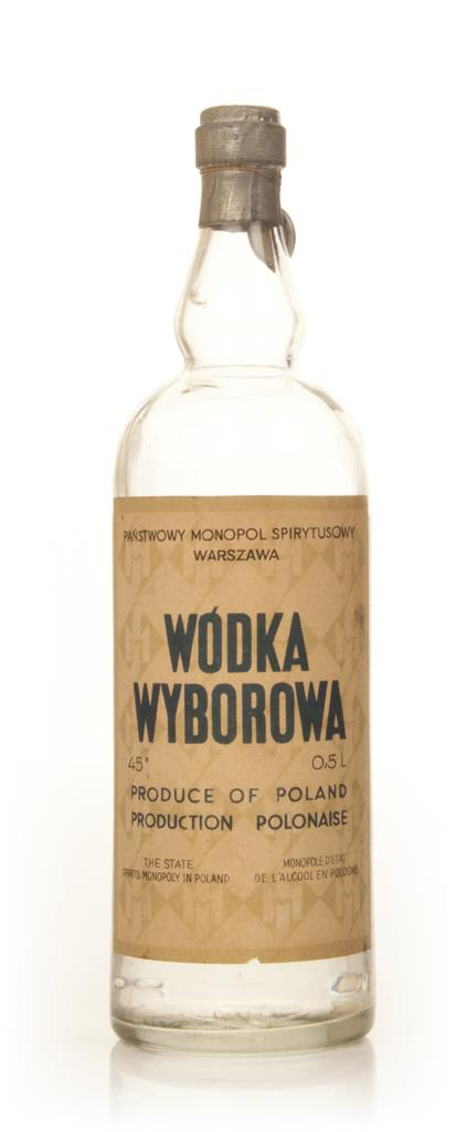 Wybrowa State Spirit Vodka - 1950s Plain Vodka