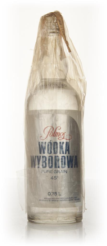 Polmos Wodka Wyborowa - 1960s Plain Vodka