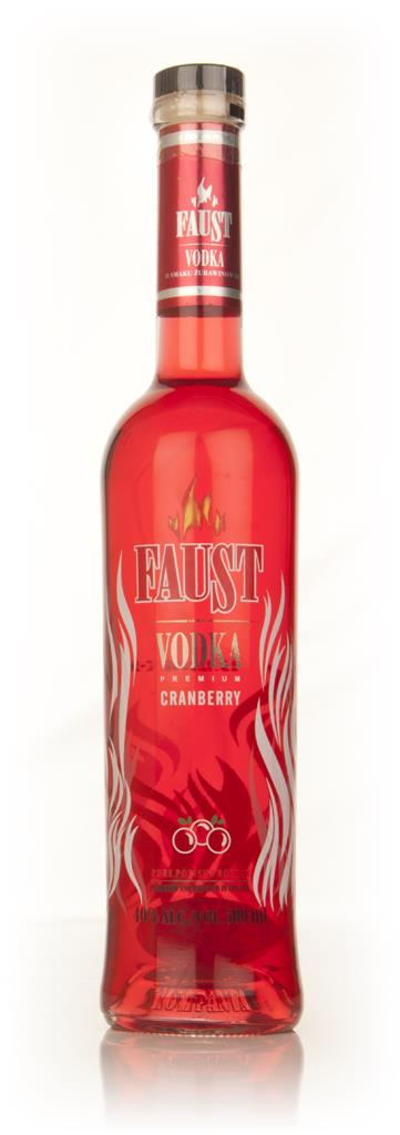 Faust Cranberry Flavoured Vodka