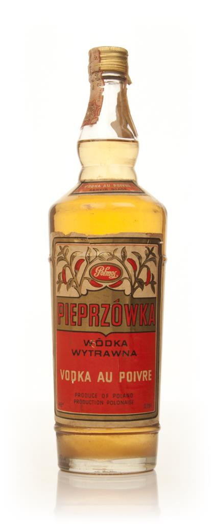 Polmos Pepper Vodka - 1960s Flavoured Vodka