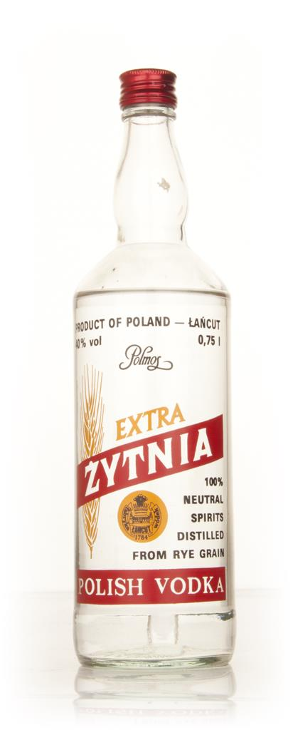 Polmos Zytnia Vodka - 1980s Plain Vodka