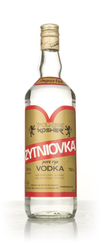 Polniss Kosher Zytniovka Vodka - 1970s Plain Vodka