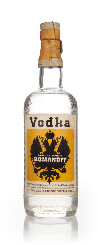 Principe Dimitri Romanoff Vodka - 1949-59 Plain Vodka