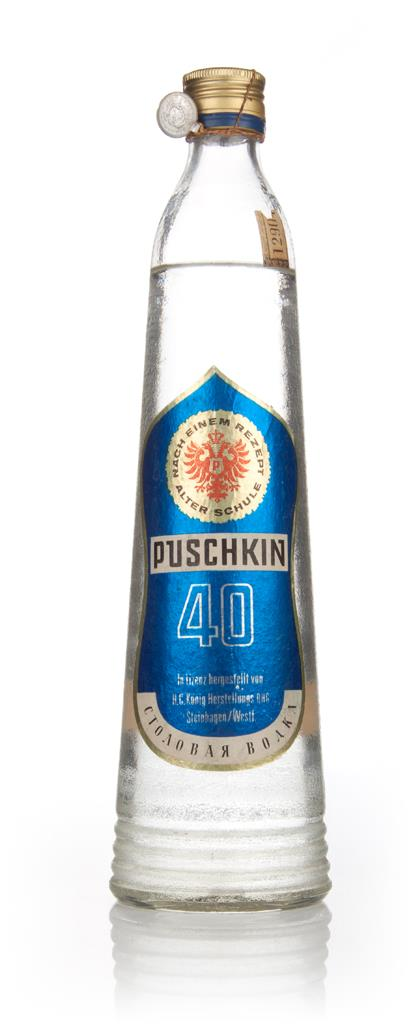 Puschkin Vodka - 1949-59 Plain Vodka