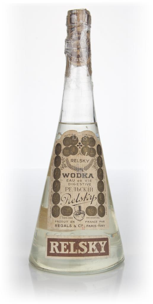 Relsky Vodka - 1950s Plain Vodka