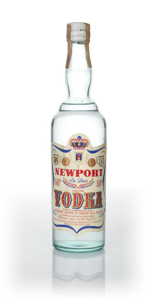 Newport Vodka - 1960s Plain Vodka