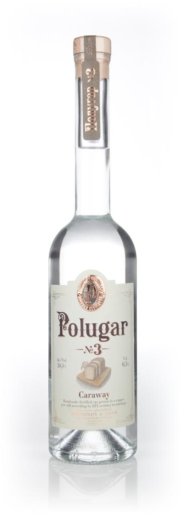 Polugar No.3 - Caraway Flavoured Vodka