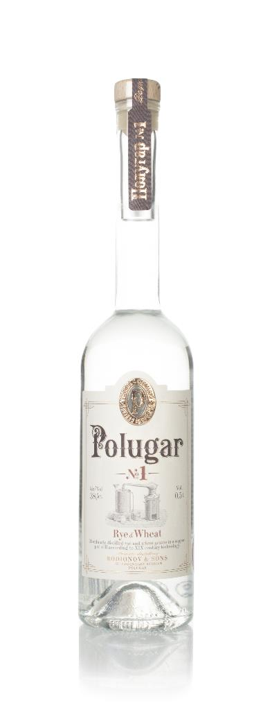 Polugar No.1 - Rye & Wheat Plain Vodka