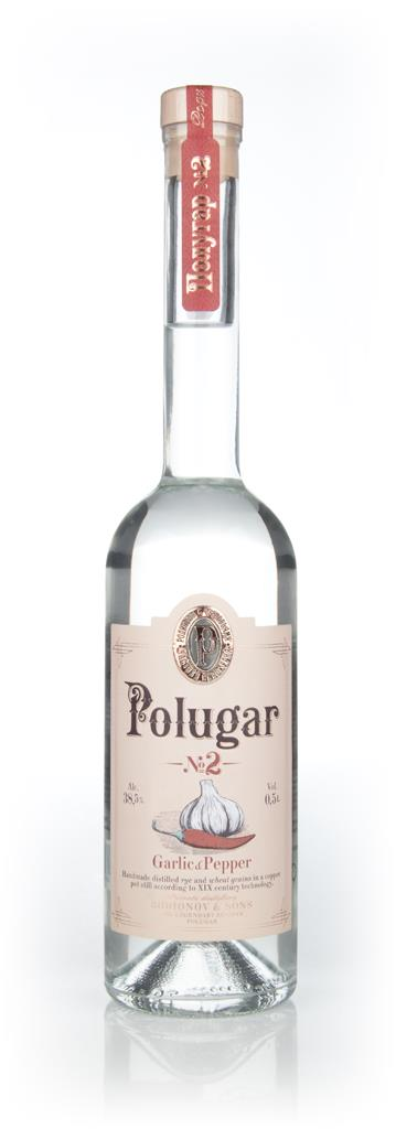 Polugar No.2 - Garlic & Pepper Flavoured Vodka