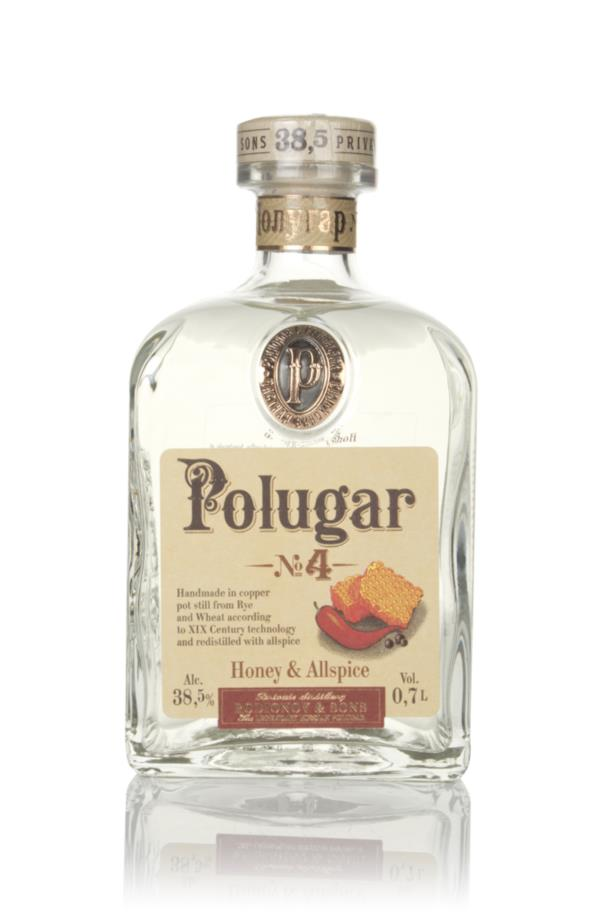 Polugar No.4 - Honey & Allspice Flavoured Vodka