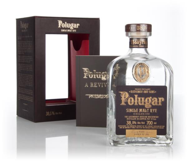 Polugar Single Malt Rye Spirit 3cl Sample Plain Vodka