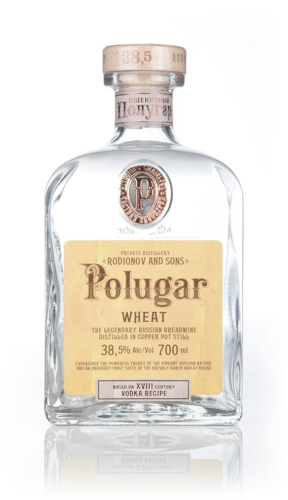 Polugar Wheat Spirit Plain Vodka