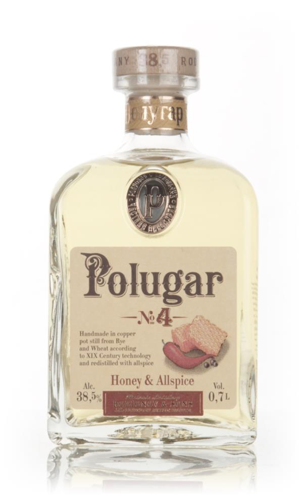 Polugar No.4 - Honey & Allspice 70cl Flavoured Vodka