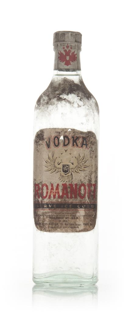 Romanoff Vodka - 1960s Plain Vodka