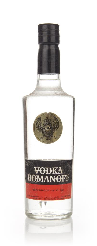 Romanoff Vodka - 1970s (37.5cl) Plain Vodka