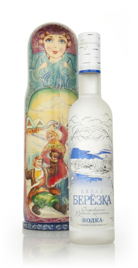 Russian Matrioshka Doll Plain Vodka