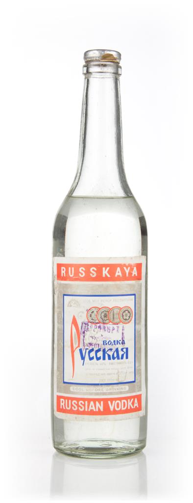 Russkaya Vodka - 1960s Plain Vodka