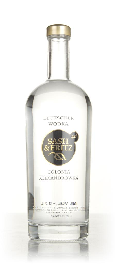 Sash & Fritz Plain Vodka