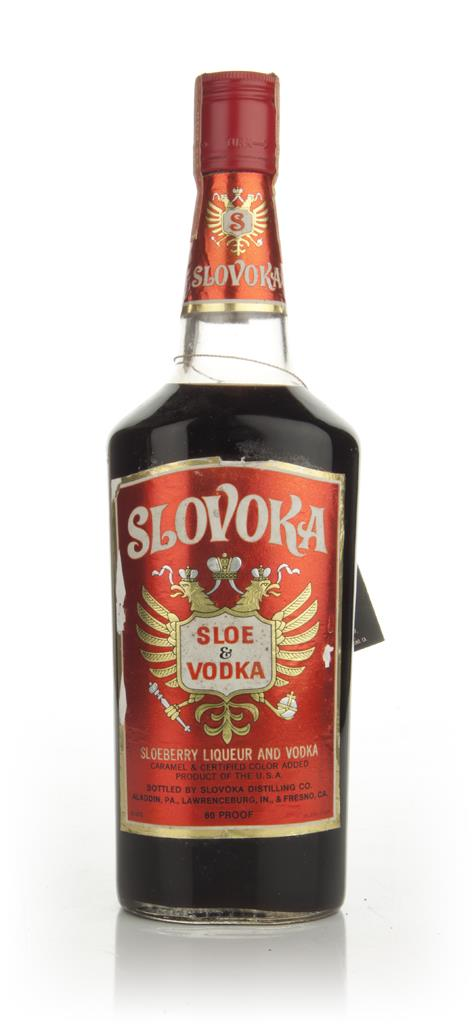 Slovoka Sloe & Vodka - 1970s Flavoured Vodka