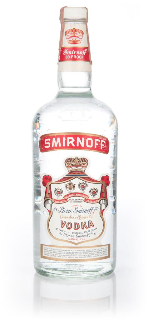 Smirnoff Vodka 114cl - 1997 Plain Vodka
