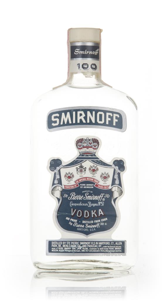 Smirnoff Blue - 1970s Plain Vodka