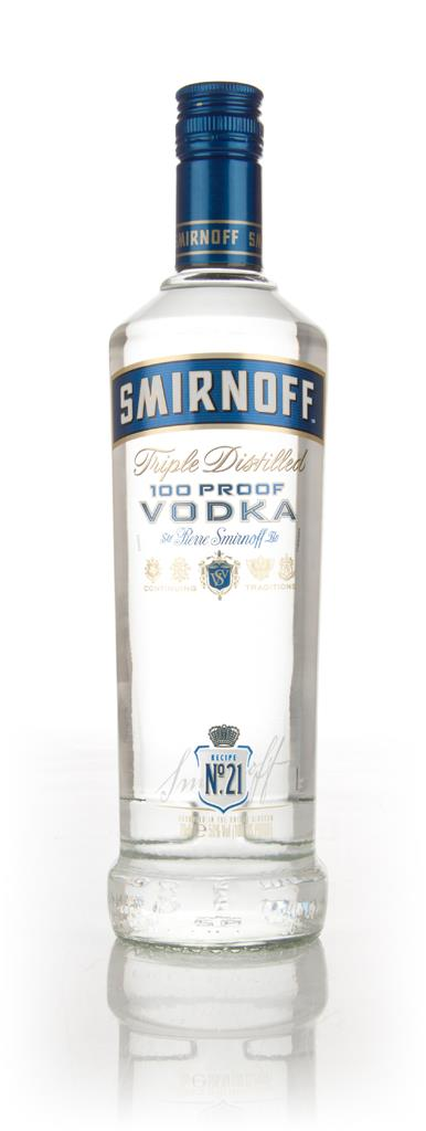 Smirnoff No. 21 100 Proof Plain Vodka