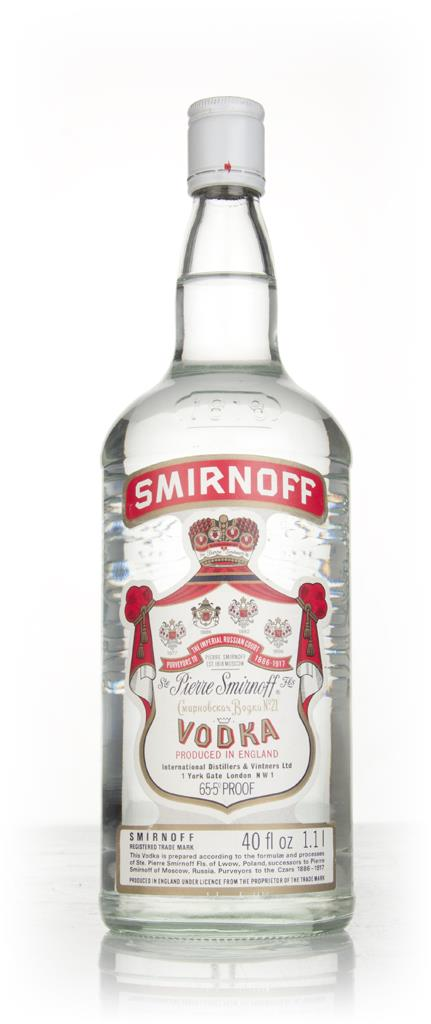 Smirnoff Red 1.1L - 1970s Plain Vodka